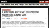 A arquitetura sustentável de do Progetto Manifattura de Kengo Kuma