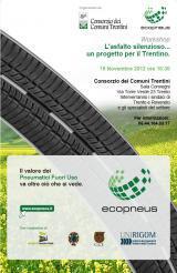 L'asfalto silenzioso... un progetto per il Trentino